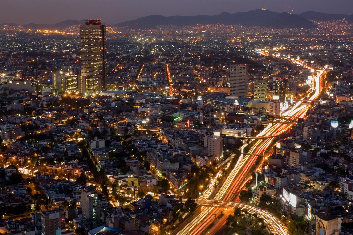 Ciudad de México desde Torre Mayor