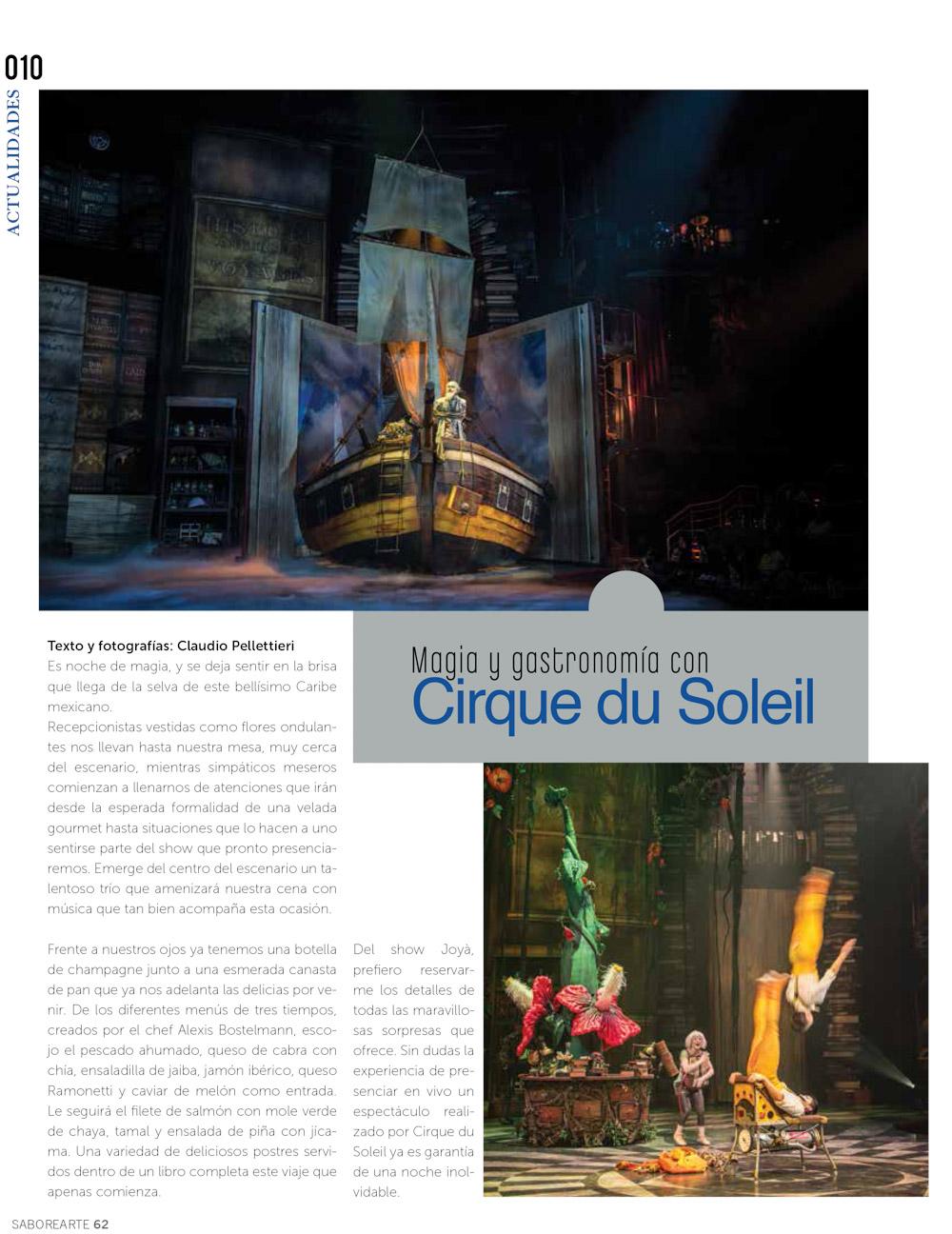 Revista Saborearte Nro 62